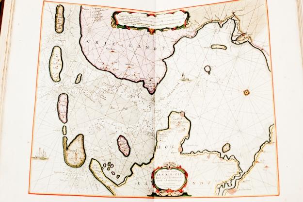 Pieter Goos 1676 de Zee-Atlas ofte Water-Wereld Zuyder-zee