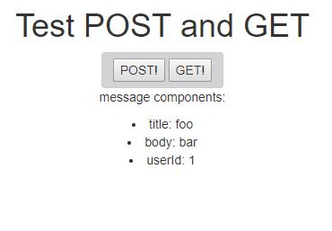 PostGetTest